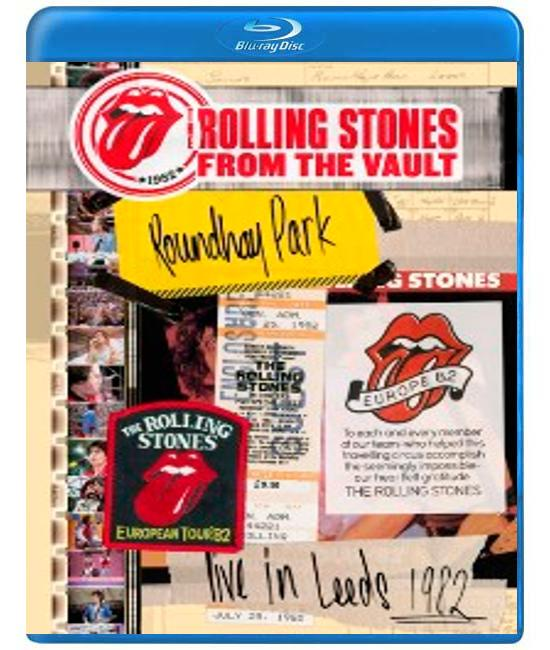 The Rolling Stones - From The Vault - Live in Leeds 1982 [Blu-ray]
