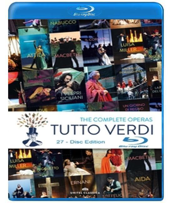 Верди: Полная коллекция опер  [27-Disc Blu-ray]