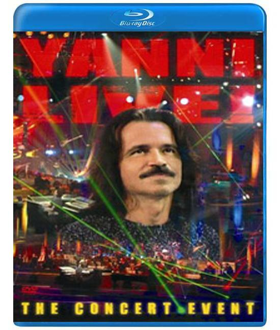 Yanni Live! The Concert Event [Blu-Ray]