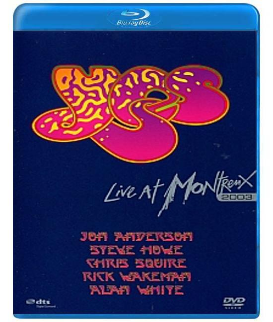 Yes: Live At Montreux [Blu-Ray]