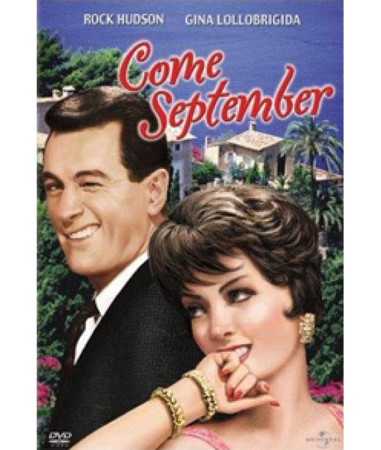 Приходи в сентябре [DVD]