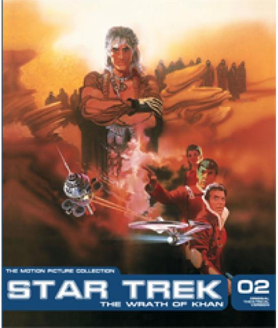 Звездный путь II: Гнев Хана [DVD]